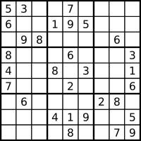 Sudoku Initial State