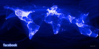 Facebook World Friend Map