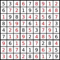 Sudoku Final State